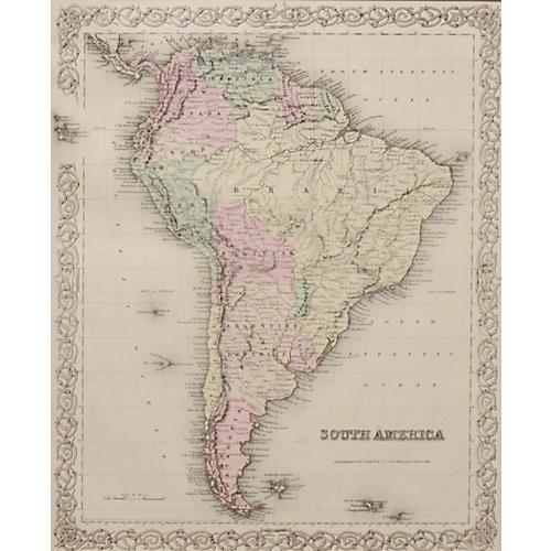 South America, 1856