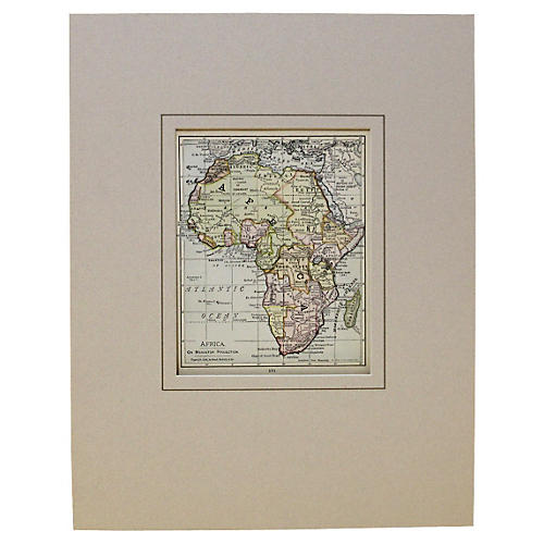 African Continent, 1900