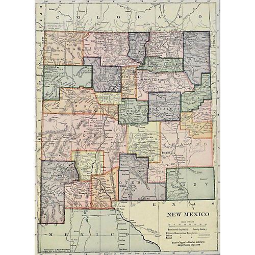 New Mexico, 1910
