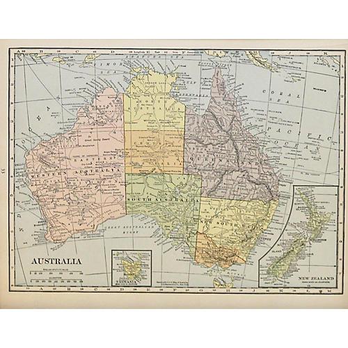 Australia & New Zealand, 1929