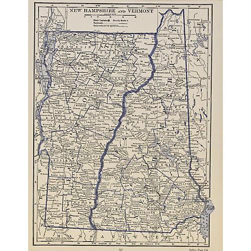 New Hampshire & Vermont, 1929