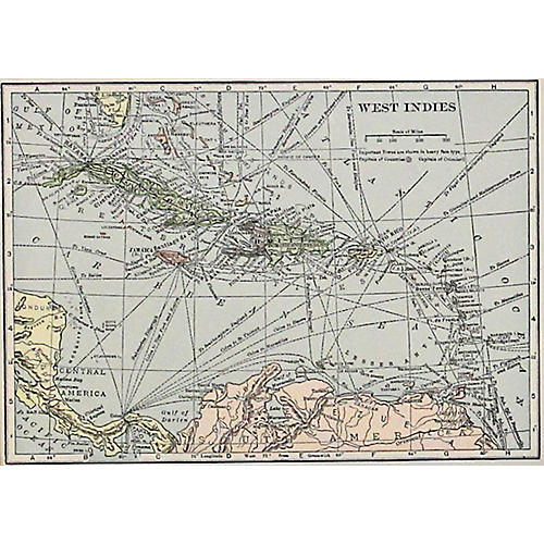 West Indies Islands, 1929