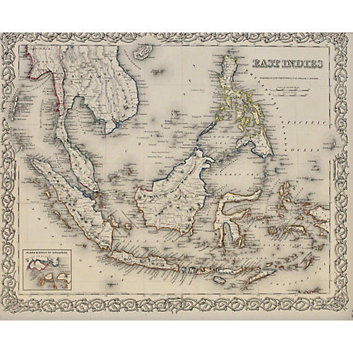 East Indies, 1856