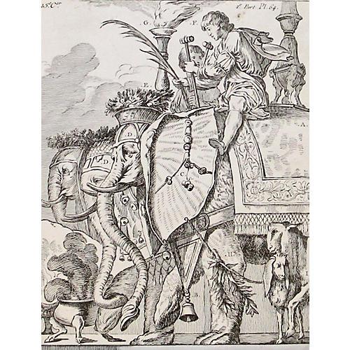 Elephant Parade, 1786