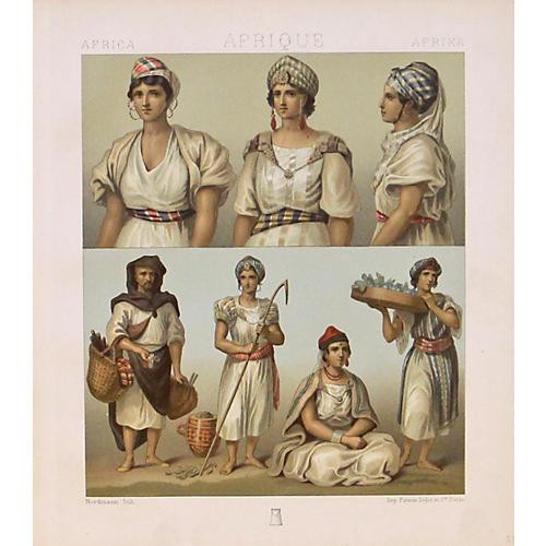 African Native Dress , 1888