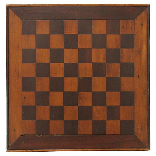 Inlaid Framed Checkerboard