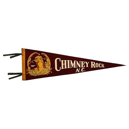 Chimney Rock, NC Pennant