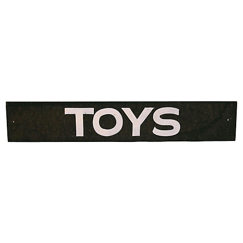 Toys Sign