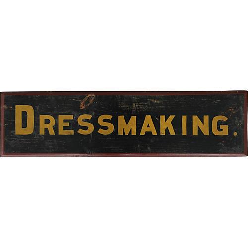 Dressmaking Sign