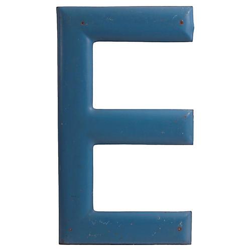 Large Blue E