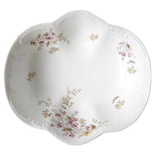 Floral Porcelain Bowl