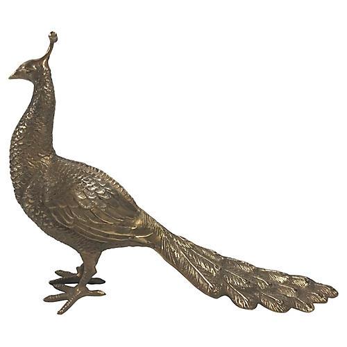 Brass Peacock