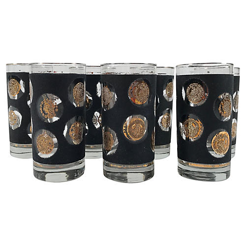 Gold Coin Tumblers, S/7