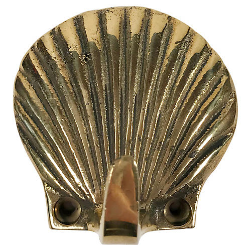 Brass Shell Wall Hook
