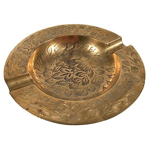 Indian Brass Ashtray