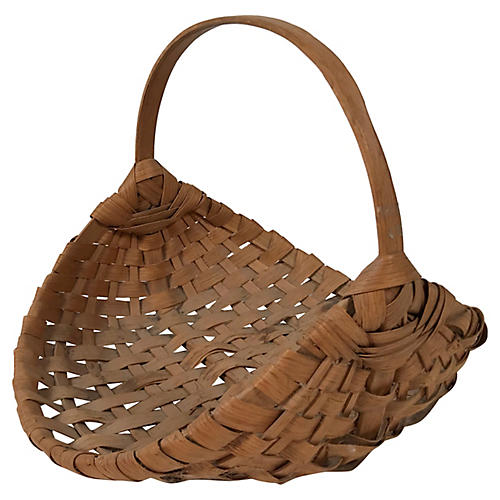 Woven Flower Basket
