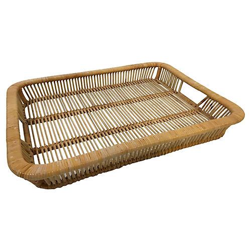 Woven Split Reed Tray