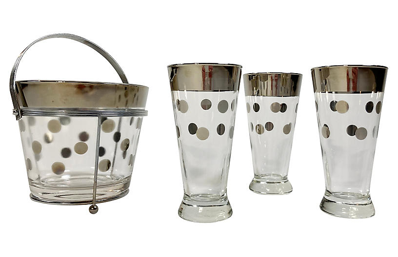 Dorothy Thorpe Style Glassware