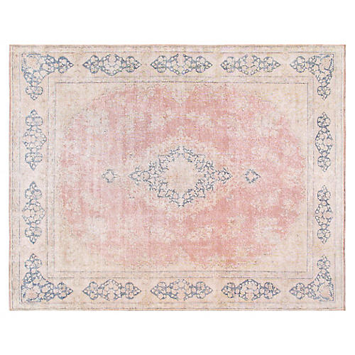 "Persian Overdyed Rug, 9'10"" x 12'10"""