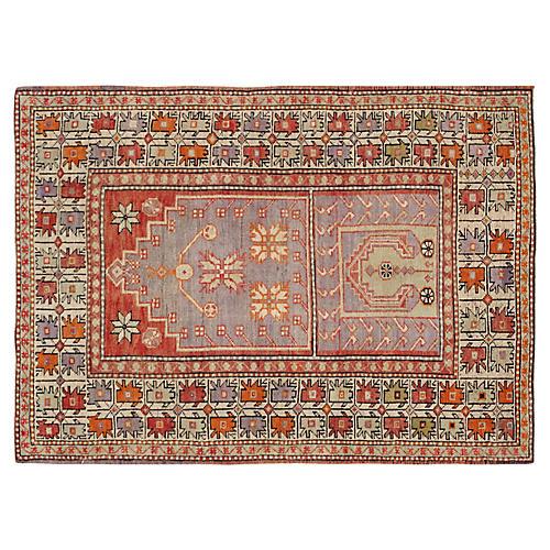 "Turkish Anatolian Rug, 3'7"" x 5'"