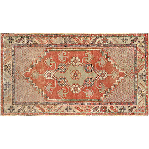 "Turkish Anatolian Rug, 2' 8"" x 4'11"""