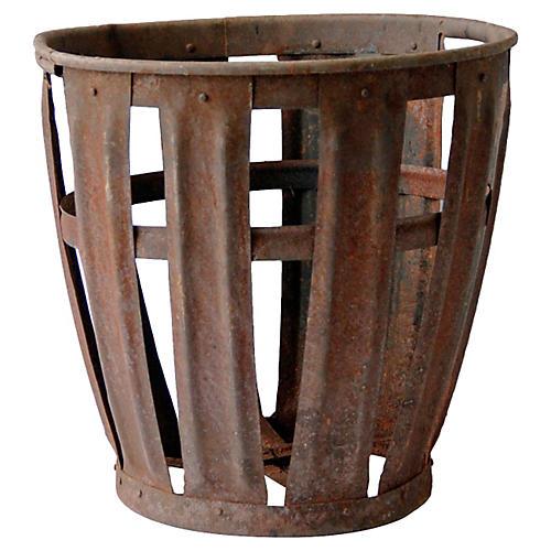European Steel Vintners Vessel Basket
