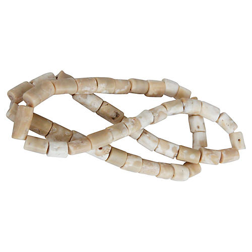 Strand of Coral Trade Beads