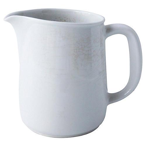 Scandinavian Ironstone Milk Jug