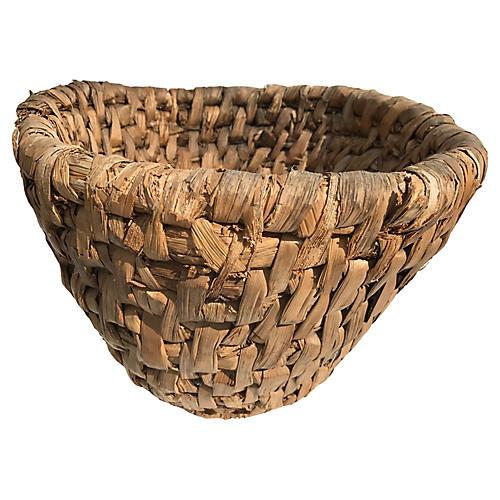 French Rye Egg Basket