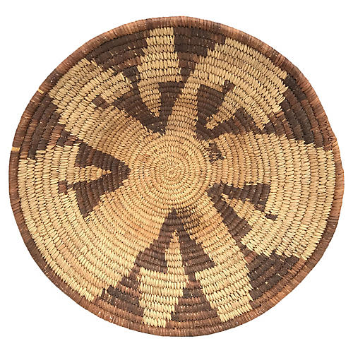Native American-Style Coil Basket
