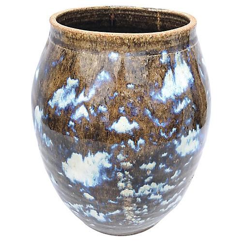 1960s Pottery Vessel