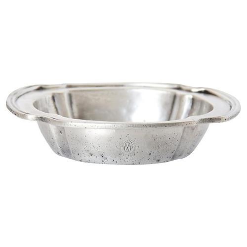 Whitehall Hotel Silver Monogram Bowl