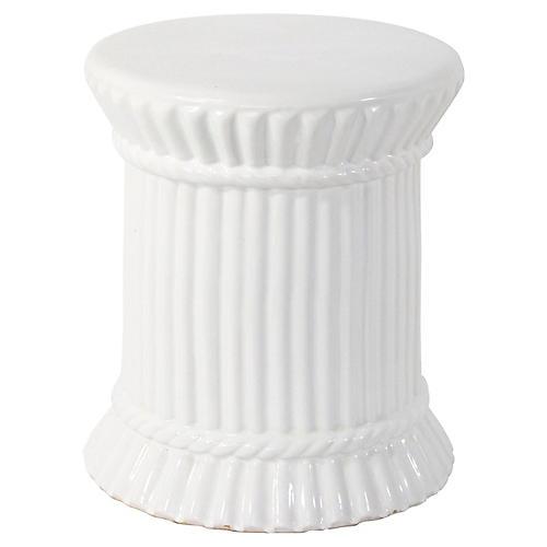 Spanish Ceramic Garden Seat