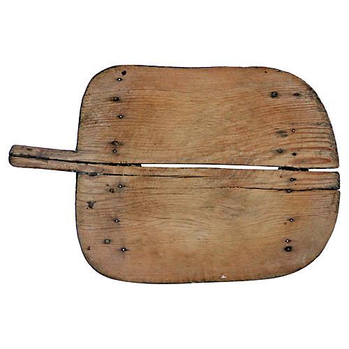 19th-C. Bread/Charcuterie Board