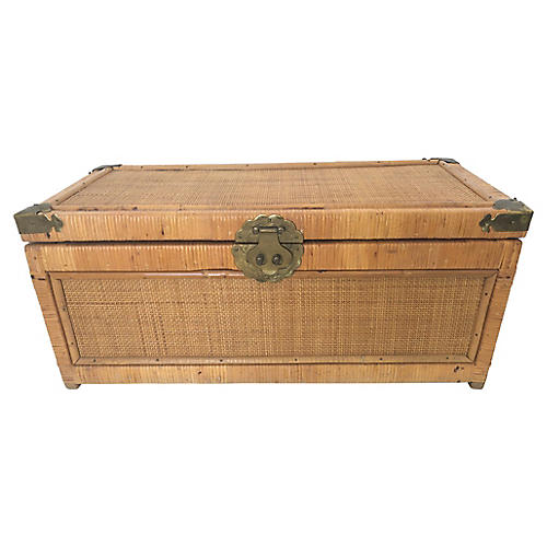 Campaign Style Bamboo Trunk