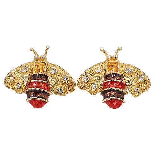 Yosca Bee Earrings