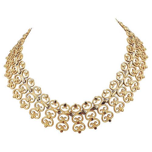 Monet Collar Necklace, 1965