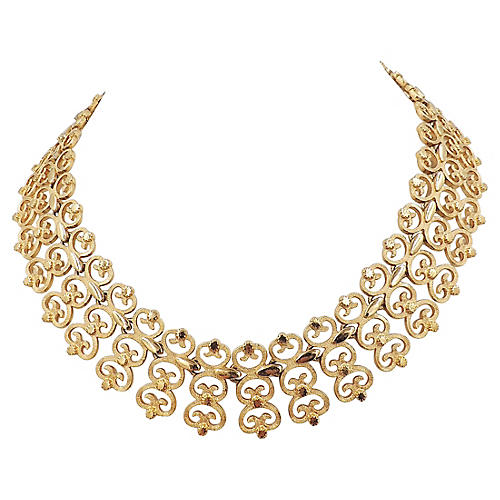 Monet Collar Necklace, 1965