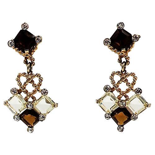 Avon of Belleville Chandelier Earrings