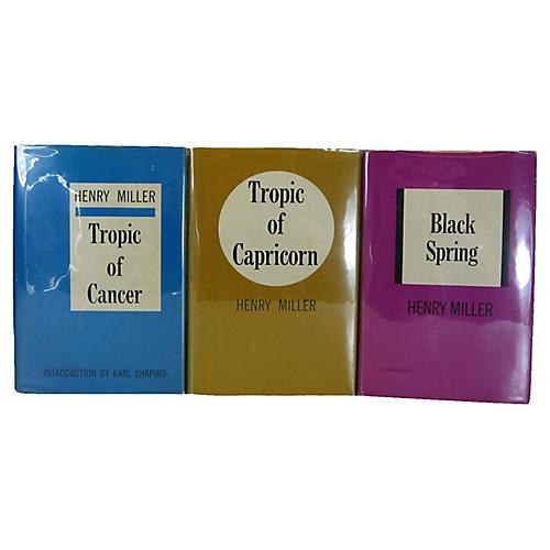 Henry Miller's Works, 3 Vols