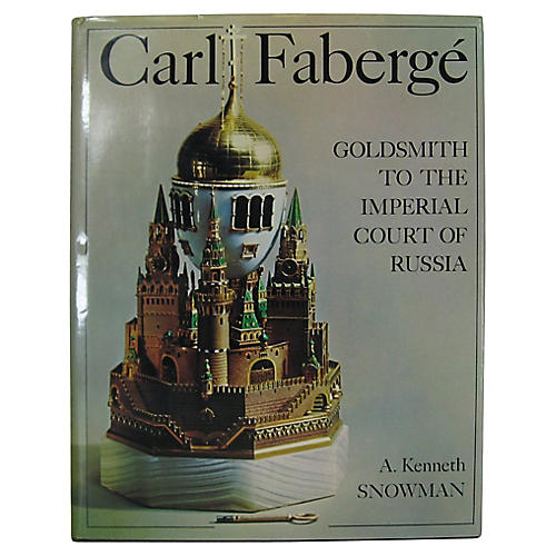 Carl Faberge by A. Kenneth Snowman