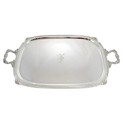 Sterling Butler Tray