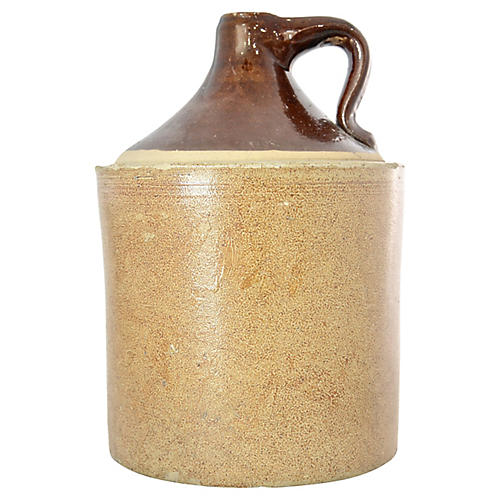 Rustic Two-Tone Jug