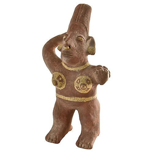 South American Terracotta Folk Idol