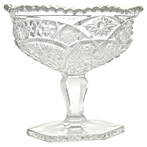 EAPG Pedestal Bowl