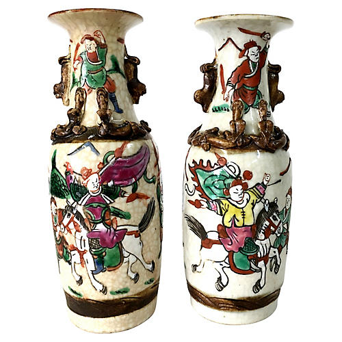 19th Century Pair Of Japanese Vases