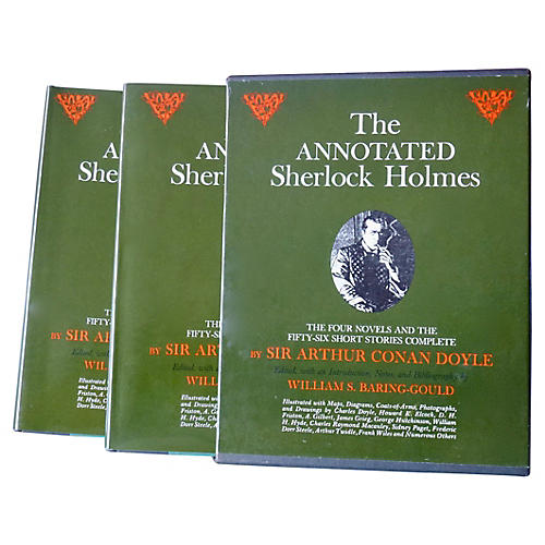 The Annotated Sherlock Holmes, Boxed S/2