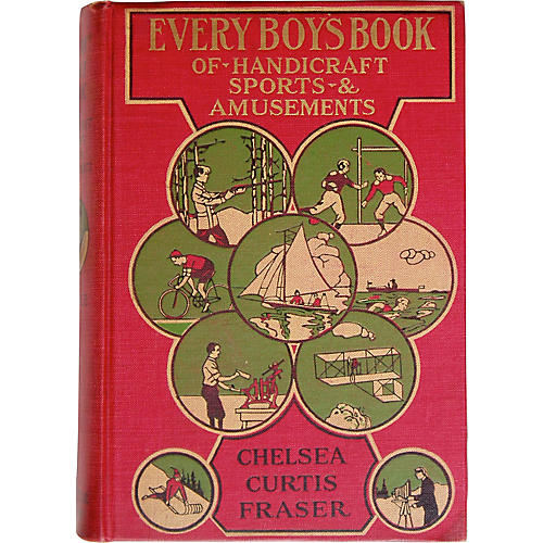 Every Boy's Book of Amusements, 1913