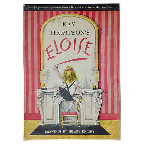 Eloise, True First Printing, 1955