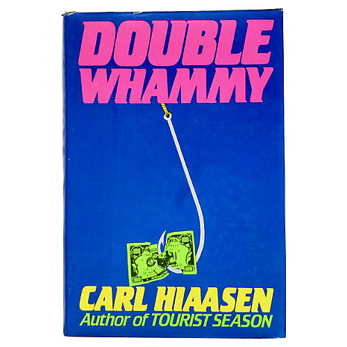 Hiaasen's Double Whammy, First Printing